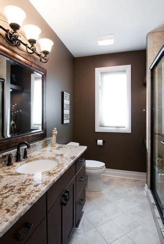 brown bathroom paint ideas  pinterest