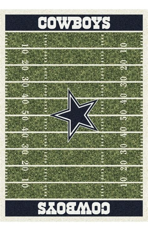 Dallas Cowboys Area Rug Milliken Nfl Home Field Dallas Cowboys Rug