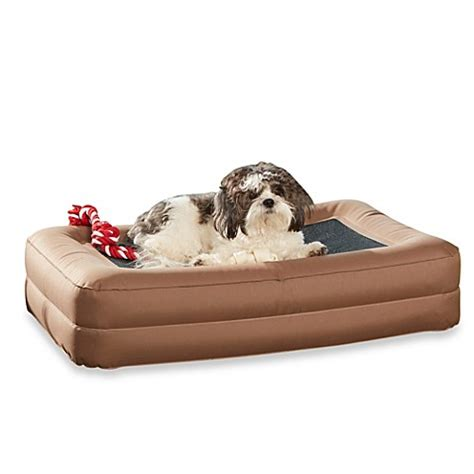 buy enchanted home pet outdoor inflatable pet air bed
