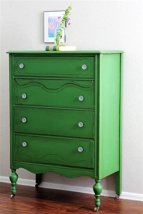 Green Dressers by Antique Green Dresser Beautiful Bright Painted Furniture