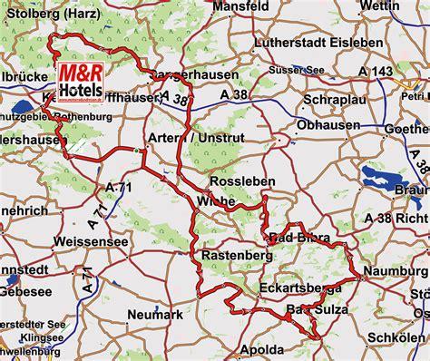 Motorradtouren Sachsen by Motorradtour Harz Kyffh 228 User Saale Unstrut Motorrad