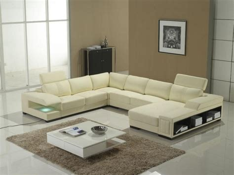 u shaped couch living room furniture contemporary minimalist living room design with white