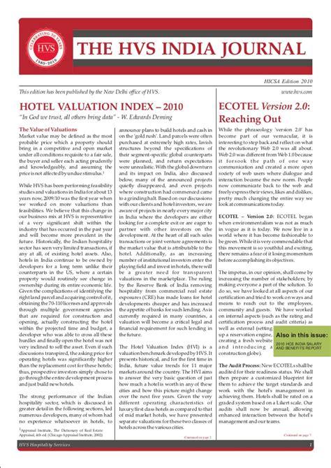 hvi email hvs india hotel valuation index hvi 2010