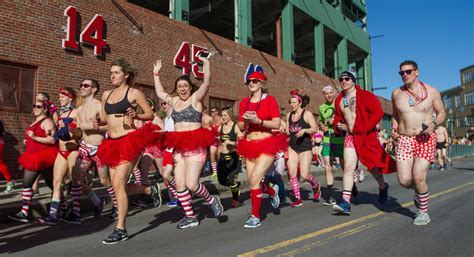 undie run cupid s undie run returns to fenway park boston magazine