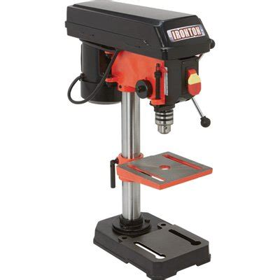 bench drill press ironton benchtop drill press 5 speed 8in 1 3 hp