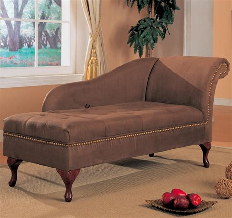 brown microfiber chaise lounge coaster brown microfiber chaise lounge 550068