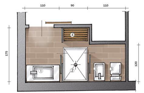 mini bagno progetto secondo bagno a uso esclusivo della cose di casa