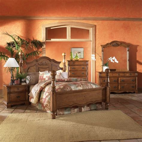 bethany country pine bedroom set furniture
