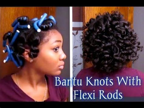 how to flexi rod relaxed fine hair short relaxed hair tutorial how i style my short cut