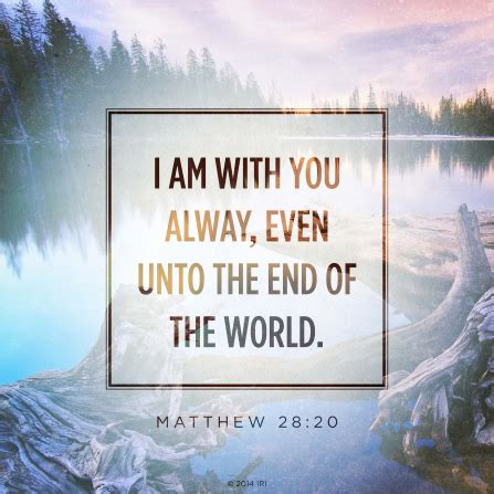 Scripture Memes - i am with you