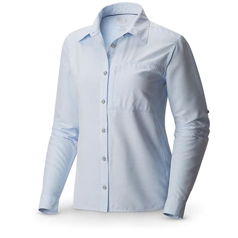 mountain hardwear s sleeve shirt upf