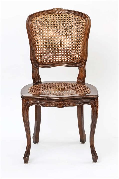 Oval Back Dining Room Chairs by Set Of 4 Country French Cane Chairs At 1stdibs