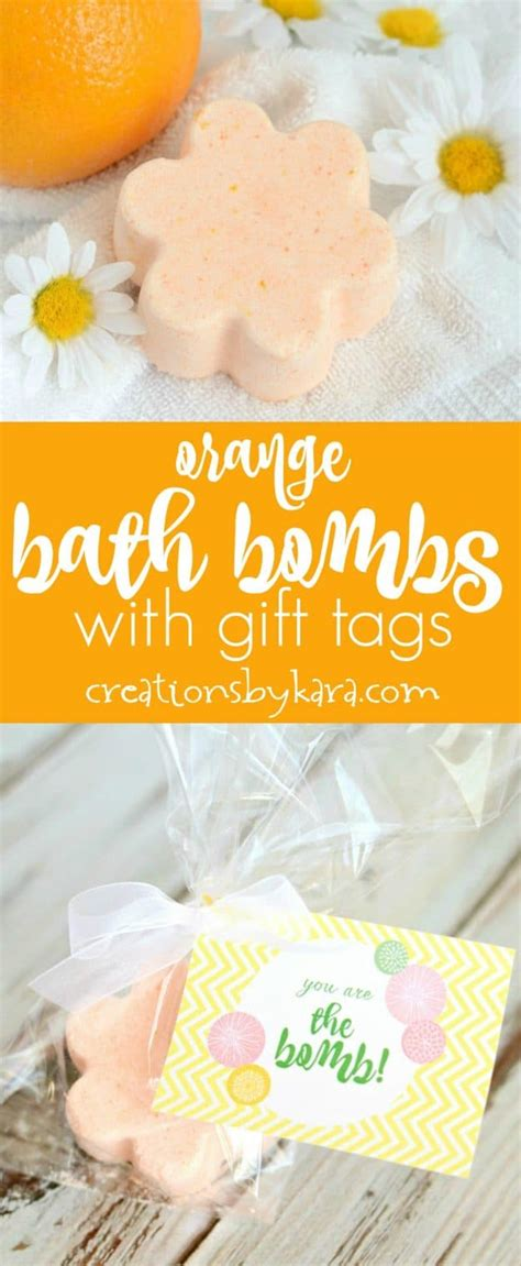 orange bath bombs creations  kara