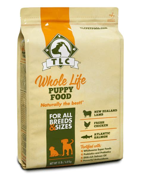 tlc puppy tlc food all whole free home delivery pets world