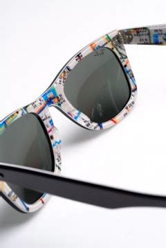 Sunglass Raybann Wayfarer Submay Map Print best la shop center wayfarer print quot nyc subway quot