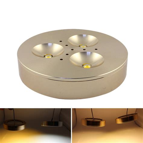 12 volt led cabinet lights mjjc 12v dimmable led puck lights white mjjcled