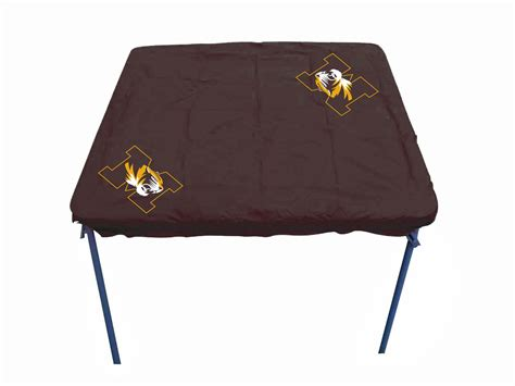 missouri tigers ncaa 34 quot x 34 quot ultimate card table cover