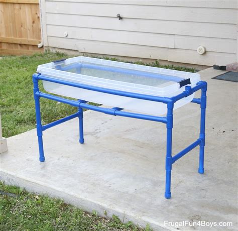 how to sand a table how to a pvc pipe sand and water table frugal