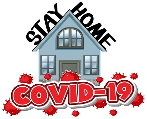 stay home covid  background   vectors