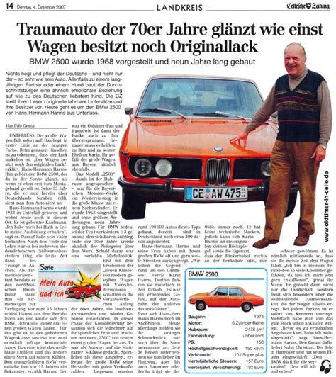 Mein Auto Und Ich by Topworldauto Gt Gt Photos Of Bmw 2500 Photo Galleries