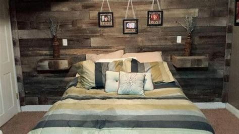 pallet headboard with shelves recycled pallet headboard with shelves pallet wood projects