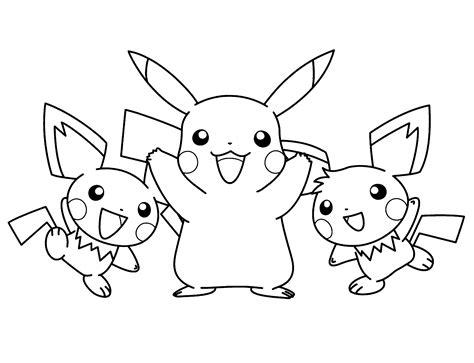 dibujos para pintar kawaii dibujos pikachu para dibujar imprimir colorear y