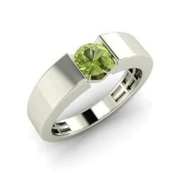 Peridot Pr 05 S fia s ring with peridot 0 4 carat