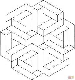 illusion coloring pages to print gallery