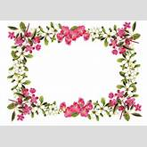 Free Printable Clip Art Borders | free digital flower frame png ...