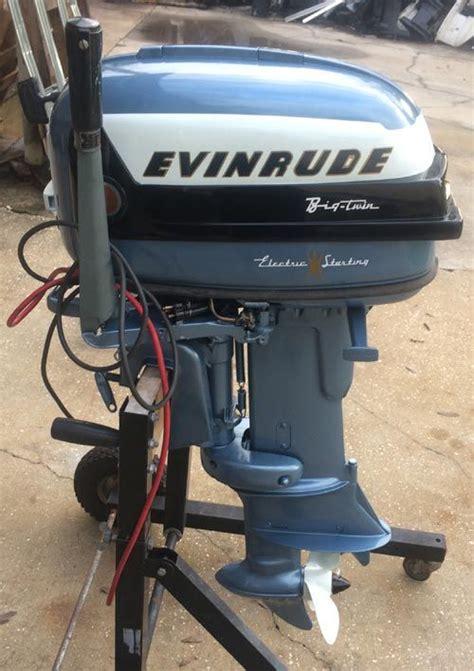 30 hp boat motors for sale 1956 30 hp evinrude outboard antique boat motor for sale