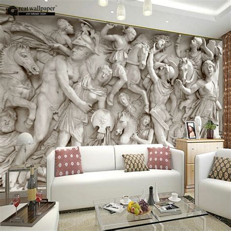 living room murals aliexpress com buy great wall 3d wall wallpaper murals