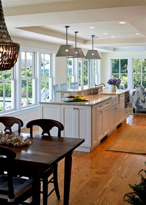 Cape And Island Kitchens | cape cod kitchen table and island hooked on houses