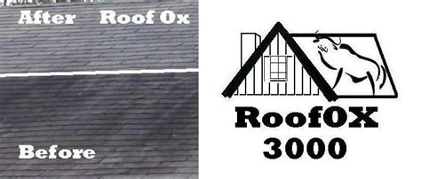roof mold shingle cleaner ox  cleans roof mold