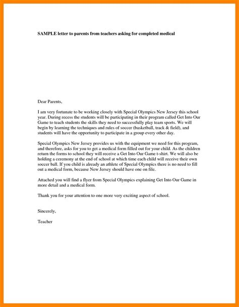 parent teacher conference letter to parents examples gse