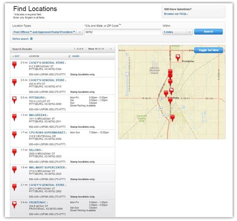 Find Local Post Office by Local Post Offices County Ks