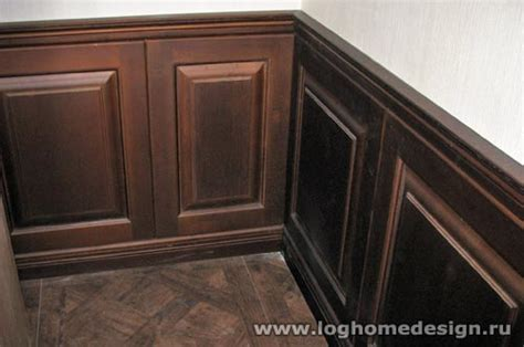 wood panel wainscoting cherry wood wainscoting