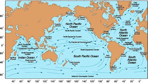 currents map noc global currents simulation marine waste distribution prediction national oceanography