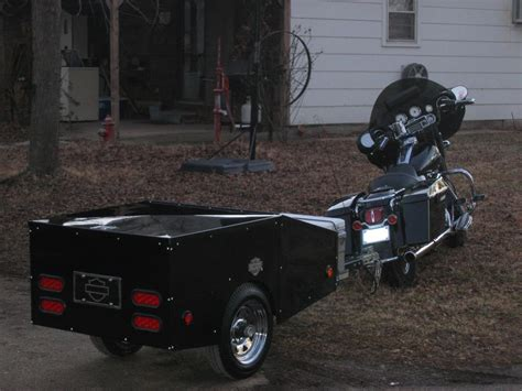 Motorrad Wohnwagen by Cing Trailers Pulled By Motorcycles Model Pink