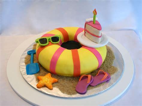 sommerliche kuchen seashells summer cake fabulous cakes 3