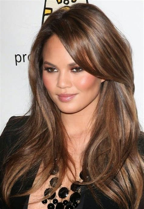 light caramel brown hair color hairstyle short march 2014