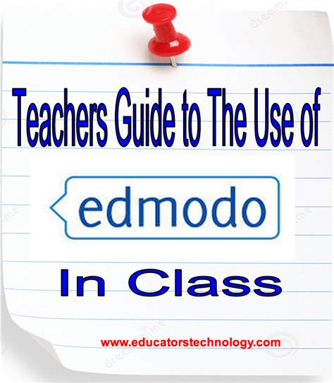 edmodo online learning a comprehensive guide to the use of edmodo with students