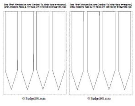 free plant marker template downloads budget101.com