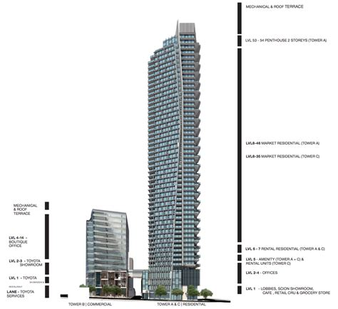 Bathrooms Floor Plans burrard place a new downtown vancouver presale condo