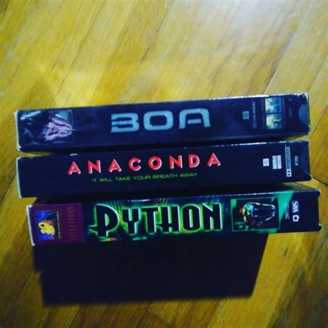 world snake day big  vhs style boa anaconda python worldsnakeday anaconda snake