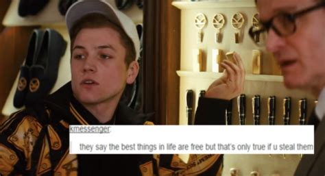 richmond kingsman quotes gary eggsy unwin