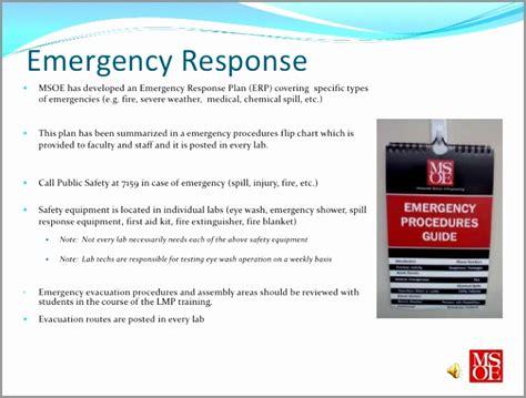 Emergency Response Card Template by 7 Emergency Spill Response Plan Template Awtti Templatesz234