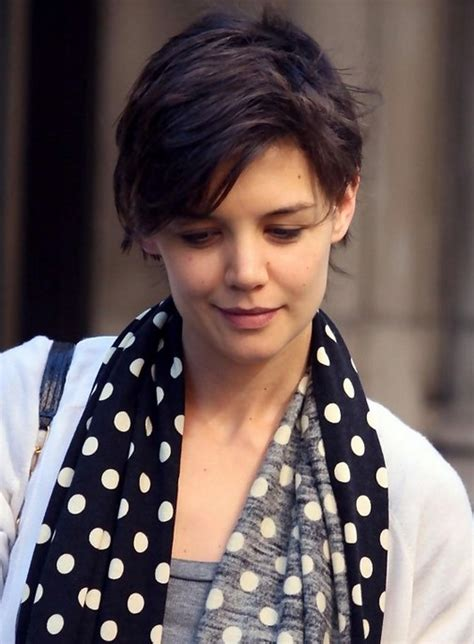 katie holmes short pixie haircut 90 latest most popualr short haircuts 2015 styles weekly