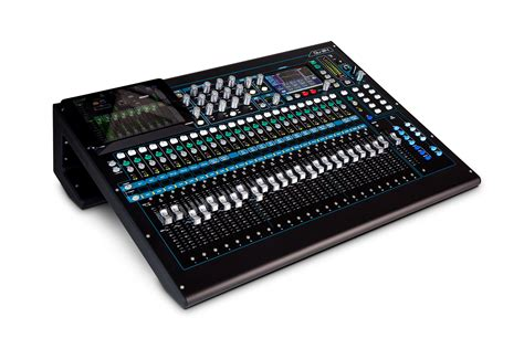 Mixer Allen Heath Qu24 allen heath qu 24c 30 in 24 out digital audio mixer