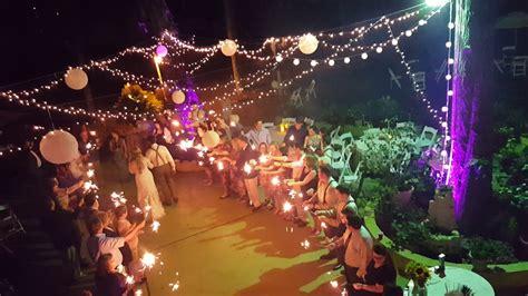 outdoor night wedding reception decorations wedding lover