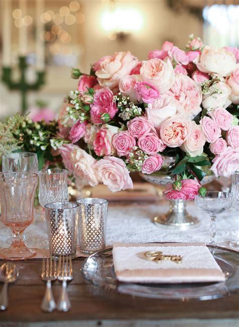 rose themed wedding favors reception d 233 cor photos elegant pink rose ranunculus